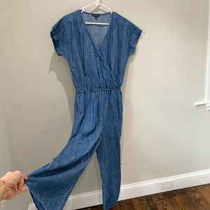 JCREW LIGHTWEIGHT DENIM JUMPSUIT